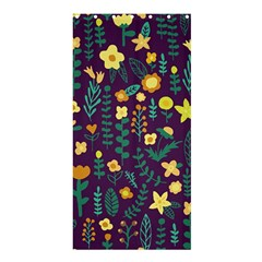 Cute Doodle Flowers 2 Shower Curtain 36  X 72  (stall)  by tarastyle