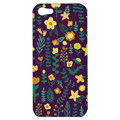 Cute Doodle Flowers 2 Apple Iphone 5 Hardshell Case by tarastyle