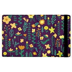 Cute Doodle Flowers 2 Apple Ipad 3/4 Flip Case by tarastyle