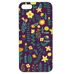Cute Doodle Flowers 2 Apple Iphone 5 Hardshell Case With Stand by tarastyle