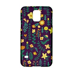 Cute Doodle Flowers 2 Samsung Galaxy S5 Hardshell Case  by tarastyle