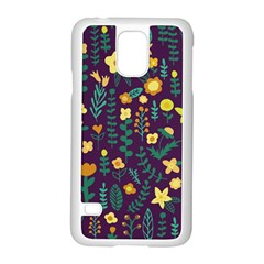 Cute Doodle Flowers 2 Samsung Galaxy S5 Case (white) by tarastyle