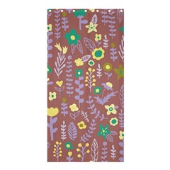 Cute Doodle Flowers 3 Shower Curtain 36  X 72  (stall)  by tarastyle