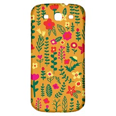 Cute Doodle Flowers 4 Samsung Galaxy S3 S Iii Classic Hardshell Back Case by tarastyle