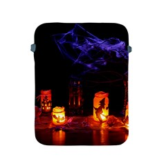Awaiting Halloween Night Apple Ipad 2/3/4 Protective Soft Cases by gothicandhalloweenstore
