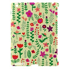 Cute Doodle Flowers 5 Apple Ipad 3/4 Hardshell Case (compatible With Smart Cover) by tarastyle