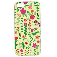 Cute Doodle Flowers 5 Apple Iphone 5 Hardshell Case With Stand by tarastyle