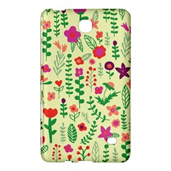 Cute Doodle Flowers 5 Samsung Galaxy Tab 4 (8 ) Hardshell Case  by tarastyle
