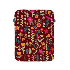Cute Doodle Flowers 6 Apple Ipad 2/3/4 Protective Soft Cases by tarastyle
