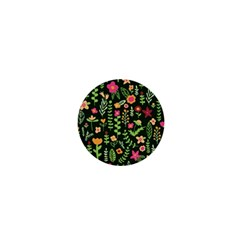 Cute Doodle Flowers 7 1  Mini Magnets by tarastyle