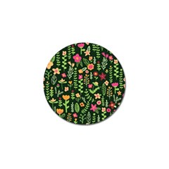Cute Doodle Flowers 7 Golf Ball Marker by tarastyle