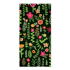 Cute Doodle Flowers 7 Shower Curtain 36  X 72  (stall)  by tarastyle