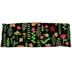 Cute Doodle Flowers 7 Body Pillow Case (dakimakura) by tarastyle