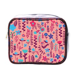 Cute Doodle Flowers 8 Mini Toiletries Bags by tarastyle