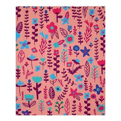 Cute Doodle Flowers 8 Shower Curtain 60  X 72  (medium)  by tarastyle