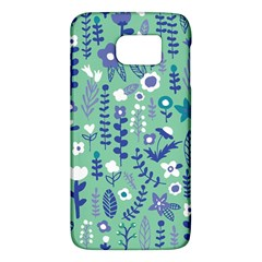 Cute Doodle Flowers 9 Galaxy S6 by tarastyle