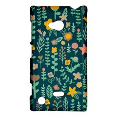 Cute Doodle Flowers 10 Nokia Lumia 720 by tarastyle