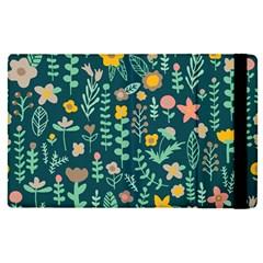 Cute Doodle Flowers 10 Apple Ipad Pro 9 7   Flip Case by tarastyle