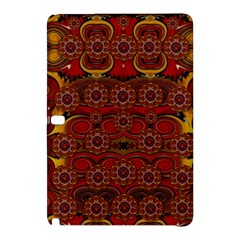 Pumkins  In  Gold And Candles Smiling Samsung Galaxy Tab Pro 12 2 Hardshell Case by pepitasart