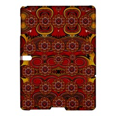 Pumkins  In  Gold And Candles Smiling Samsung Galaxy Tab S (10 5 ) Hardshell Case  by pepitasart
