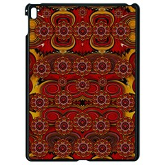Pumkins  In  Gold And Candles Smiling Apple Ipad Pro 9 7   Black Seamless Case by pepitasart