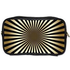 Art Deco Goldblack Toiletries Bags 2 Side by 8fugoso