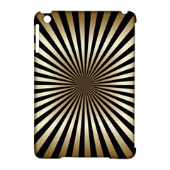Art Deco Goldblack Apple Ipad Mini Hardshell Case (compatible With Smart Cover) by 8fugoso