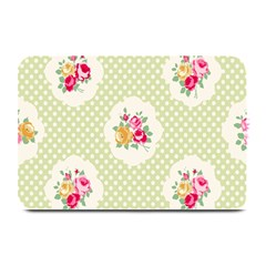 Green Shabby Chic Plate Mats by 8fugoso