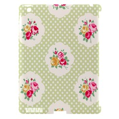 Green Shabby Chic Apple Ipad 3/4 Hardshell Case (compatible With Smart Cover) by 8fugoso
