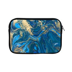 Ocean Blue Gold Marble Apple Ipad Mini Zipper Cases by 8fugoso