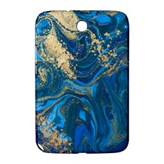 Ocean Blue Gold Marble Samsung Galaxy Note 8 0 N5100 Hardshell Case  by 8fugoso