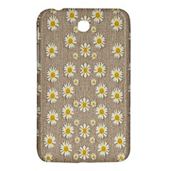 Star Fall Of Fantasy Flowers On Pearl Lace Samsung Galaxy Tab 3 (7 ) P3200 Hardshell Case  by pepitasart