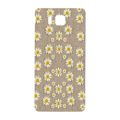 Star Fall Of Fantasy Flowers On Pearl Lace Samsung Galaxy Alpha Hardshell Back Case by pepitasart