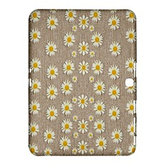 Star Fall Of Fantasy Flowers On Pearl Lace Samsung Galaxy Tab 4 (10 1 ) Hardshell Case  by pepitasart