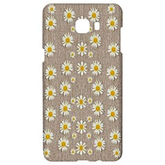 Star Fall Of Fantasy Flowers On Pearl Lace Samsung C9 Pro Hardshell Case  by pepitasart