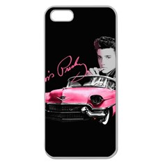Elvis Presley s Pink Cadillac Apple Seamless Iphone 5 Case (clear)