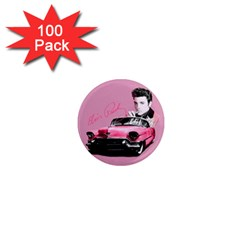 Elvis Presley s Pink Cadillac 1  Mini Magnets (100 Pack)  by Valentinaart