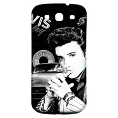 Elvis Presley Collage Samsung Galaxy S3 S Iii Classic Hardshell Back Case by Valentinaart