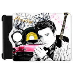 Elvis Presley Collage Kindle Fire Hd 7  by Valentinaart