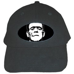 Frankenstein s Monster Halloween Black Cap by Valentinaart