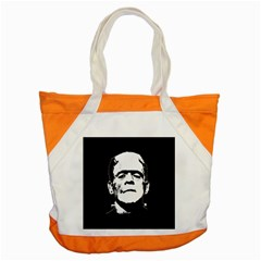 Frankenstein s Monster Halloween Accent Tote Bag by Valentinaart