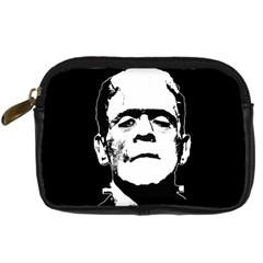 Frankenstein s Monster Halloween Digital Camera Cases by Valentinaart