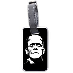 Frankenstein s Monster Halloween Luggage Tags (two Sides) by Valentinaart
