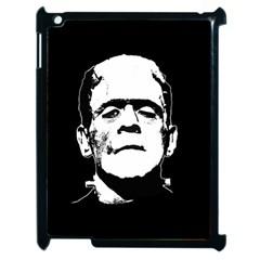 Frankenstein s Monster Halloween Apple Ipad 2 Case (black) by Valentinaart