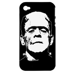 Frankenstein s Monster Halloween Apple Iphone 4/4s Hardshell Case (pc+silicone) by Valentinaart