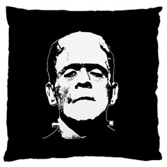 Frankenstein s Monster Halloween Standard Flano Cushion Case (one Side) by Valentinaart