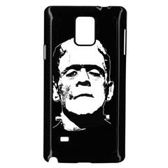 Frankenstein s Monster Halloween Samsung Galaxy Note 4 Case (black) by Valentinaart