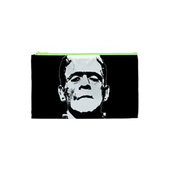 Frankenstein s Monster Halloween Cosmetic Bag (xs) by Valentinaart