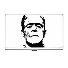 Frankenstein s Monster Halloween Business Card Holders by Valentinaart