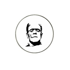Frankenstein s Monster Halloween Hat Clip Ball Marker by Valentinaart